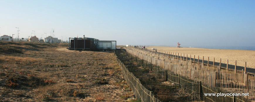 Vedações na Praia de Canide (Norte)