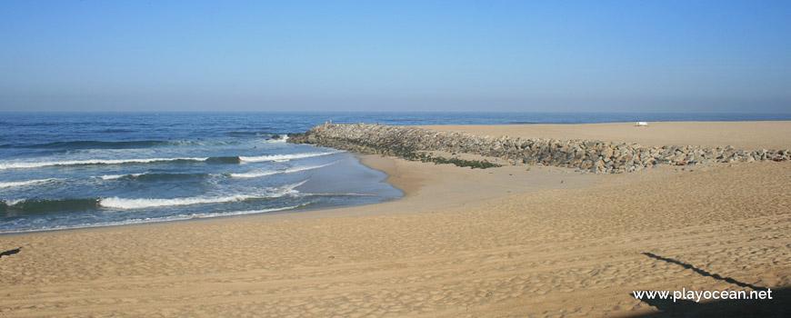 Pier at Praia de Canide (South) Beach
