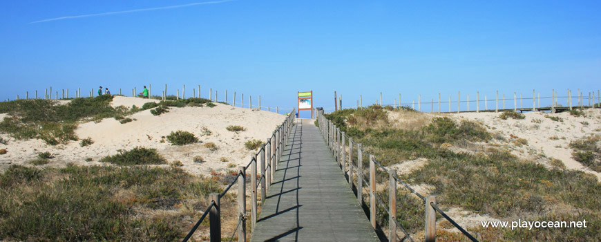 Access to Praia de Dunas Mar Beach