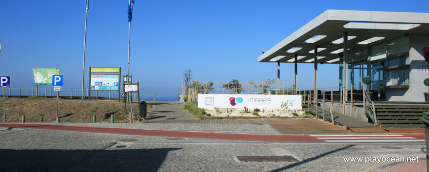 Entrance, Praia da Madalena (South) Beach