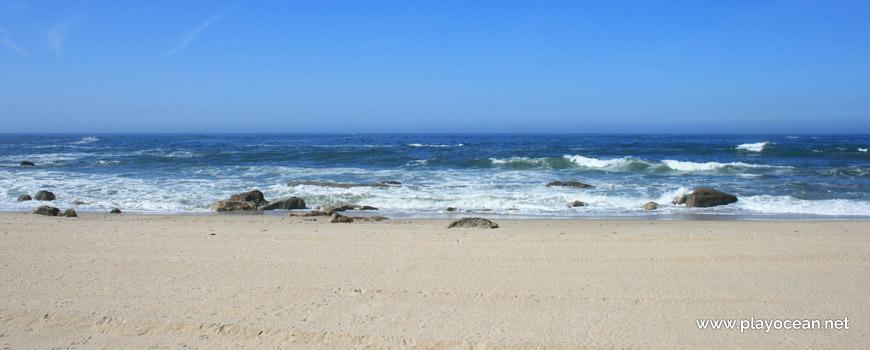 Mar na Praia de Miramar (Norte)