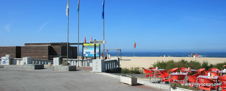 Entrance of Praia de Miramar (South) Beach