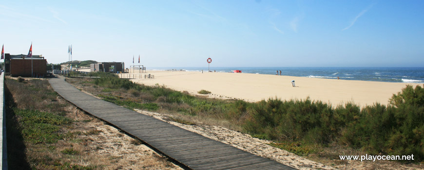Praia de Miramar (Sul) em Arcozelo, Vila Nova de Gaia • Portugal