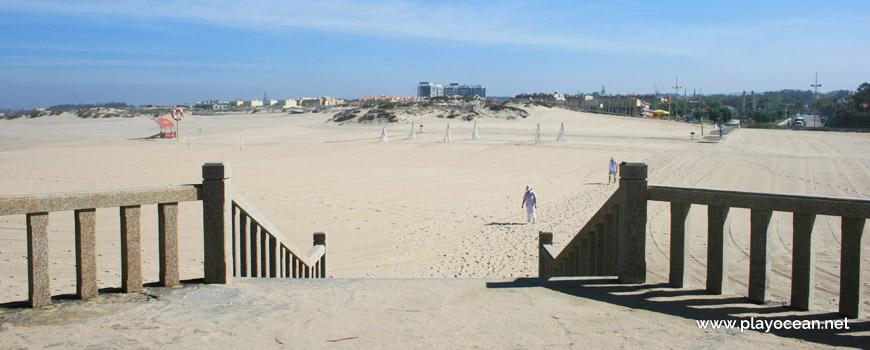 Sand at Praia do Senhor da Pedra Beach