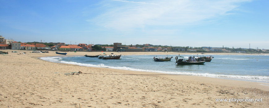 Boats at Praia da Sétima Arte Beach