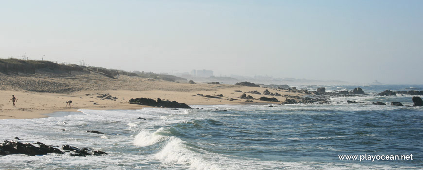 South of Praia de Valadares (North) Beach