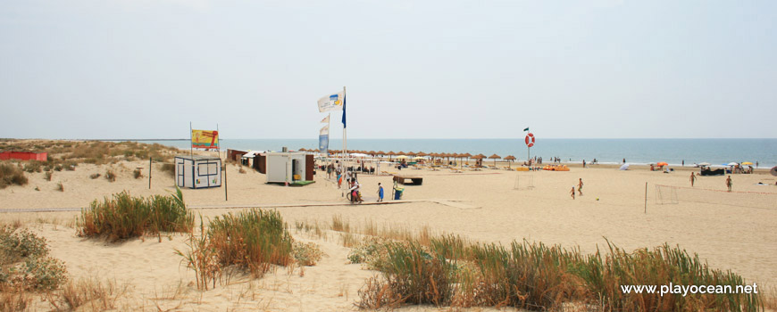 Estandartes da Praia de Santo António