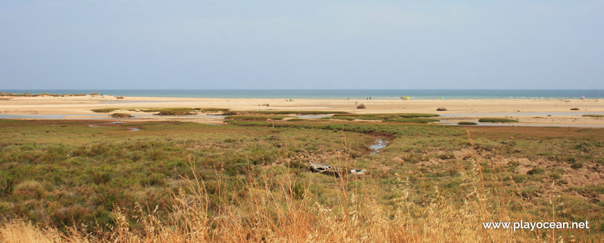 Sapal na Praia de Cacela Velha