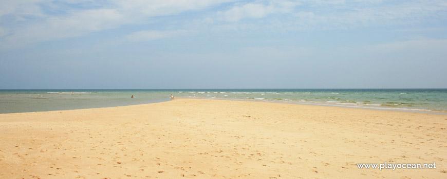 Beira-mar, Praia de Cacela Velha