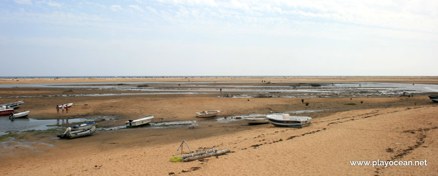 Barcos na Ria Formosa