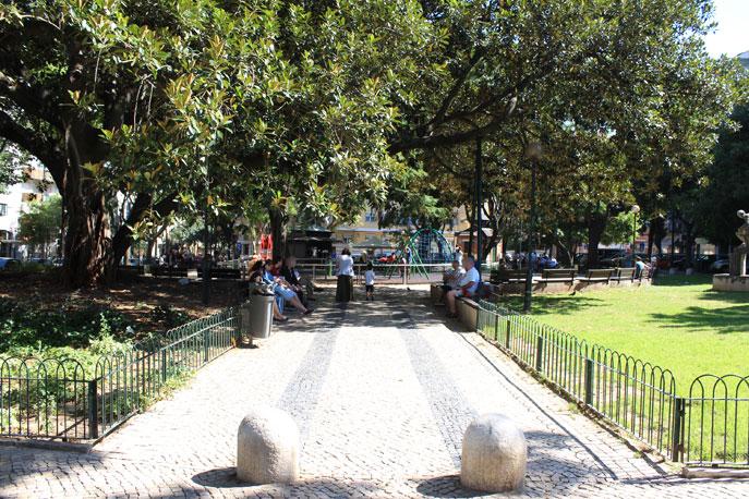 Jardim Constantino Em Lisboa Portugal