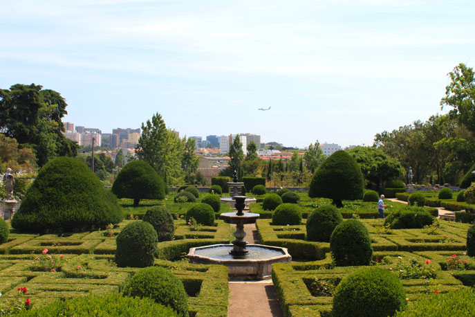 Jardins do pal cio dos marqu ses de fronteira em lisboa - Front de liberation des nains de jardins ...