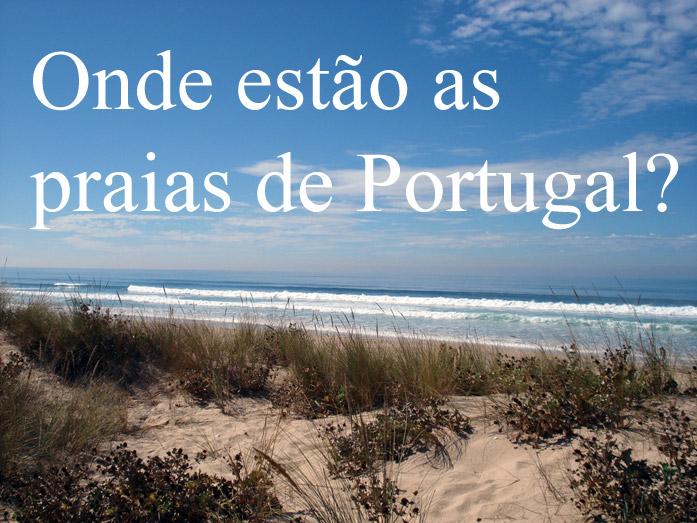 mapa de portugal continental praias Mapa das Praias de Portugal mapa de portugal continental praias